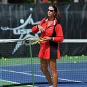 Joy M. teaches tennis lessons in Irving, Tx