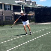 Rob L. teaches tennis lessons in Broomall, Pa