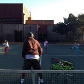 Mike H. teaches tennis lessons in San Francisco, CA
