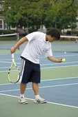 Tuan P. teaches tennis lessons in Malden, MA