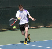 Gabe K. teaches tennis lessons in Chevy Chase, MD
