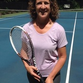Marcy C. teaches tennis lessons in Trumbull, CT