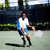 Arnaud B. teaches tennis lessons in Washington, DC