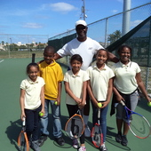Chris S. teaches tennis lessons in Miramar, FL