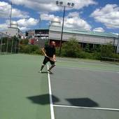 Wilson M. teaches tennis lessons in Brockton, MA