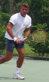 Stephen P. teaches tennis lessons in Woodstock, GA